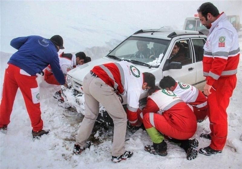 امدادرسانی به 7 هزار نفر در مناطق برفگیر طی 3 روز اخیر