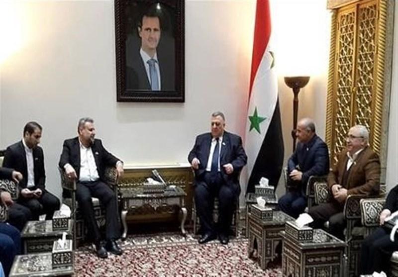 تشکیل لجنة برلمانیة بین ایران وسوریا للاسراع فی تنفیذ التعاون الاستراتیجی