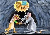 کاریکاتور/ دیدار محرمانه بنسلمان و نتانیاهو!