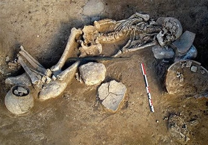 3000-Year-Old Skeleton Unearthed in Iran's North