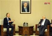 المعلم لـ بیدرسون: سوریا مستعدة للتعاون لإیجاد حل سیاسی للأزمة فیها