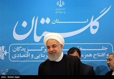 سفر دو روزه رئیس جمهور به استان گلستان