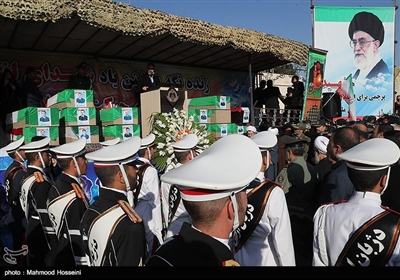 مراسم تشییع پیکر شهدای سانحه هوایی هواپیمای باربری بوئینگ ۷۰۷ ارتش