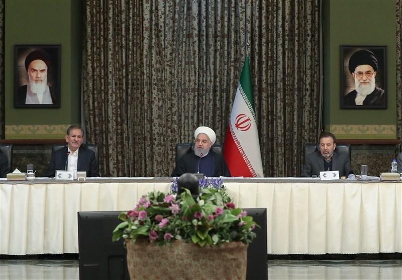 روحانی: ذخایر کالاهای اساسی کشور امروز بهتر از هر زمان دیگری است