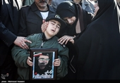 Funeral Procession Held in Tehran for Victims of Army Plane Crash