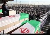 مراسم تشییع شهید گلستانی سانحه هواپیمایی بوئینگ 707 ارتش در بندرگز برگزار میشود
