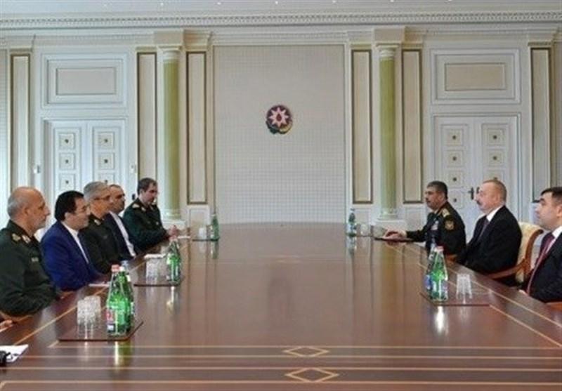 سردار باقری با رئیسجمهور آذربایجان دیدار کرد