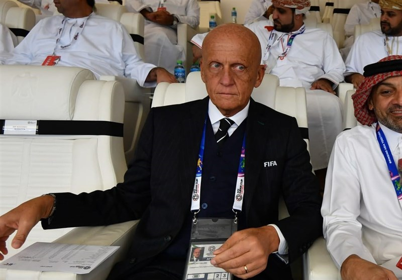کولینا: سطح داوری جام ملتهای آسیا خوب بوده است/ استفاده از VAR تصمیمی خردمندانه است