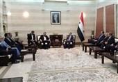 وفد برلمانی ایرانی یلتقی رئیس الوزراء السوری