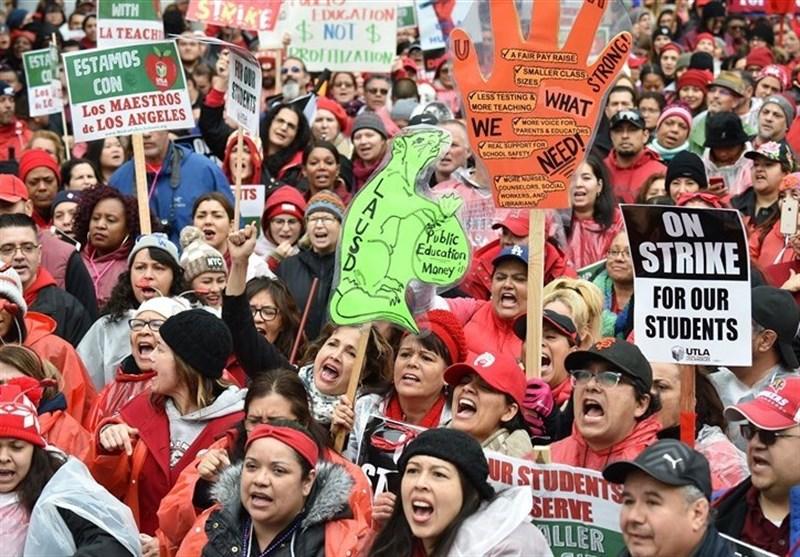 No Talks Scheduled on Third Day of Los Angeles Teachers Strike
