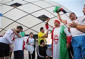 گزارش خبرنگار اعزامی تسنیم از امارات| فروش ۴۰۰ درهمی بلیت در بازار سیاه و حضور مسی ایرانی + عکس