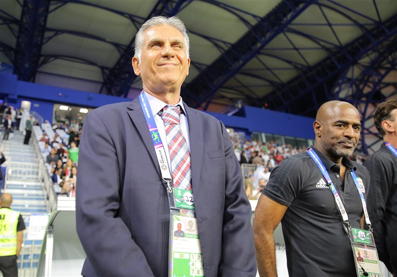 Asian Cup Will Start for Team Melli from Next Game: Carlos Queiroz