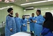 بازدید امام جمعه اردبیل از مرکز ناباروری قفقاز به روایت تصویر