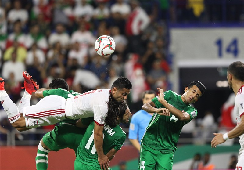 روایت رسانه عراقی از کاهش تنشها در بازی با ایران با انتشار یک عکس