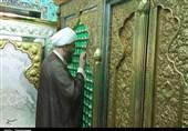 حضور رئیس شورای سیاستگذاری ائمه جمعه کشور در آستان مقدس امامزادگان جوپار به روایت تصویر
