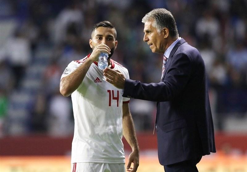 سامان قدوس: صحبت از قهرمانی کمی زود است/ عمدی روی پای بازیکن عراقی نیفتادم