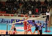 لیگ برتر والیبال| دیدار تیمهای شهرداری تبریز و شهروند اراک به روایت تصویر