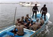 پلیس دریایی غزه 7 ماهیگیر مصری را نجات داد