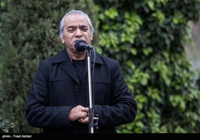 سخنرانی اصغر همت در مراسم تشییع پیکر مرحوم حسین محباهری