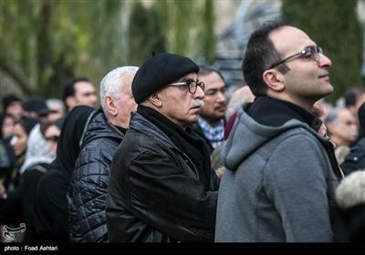 مراسم تشییع پیکر مرحوم حسین محباهری