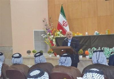 ظریف یعلن استعداد ایران لالغاء التاشیرات التجاریة مع العراق