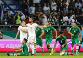 محرومیت سنگین بازیکنان تیم ملی فوتبال عراق به دلیل ناکامی در جام ملتهای آسیا