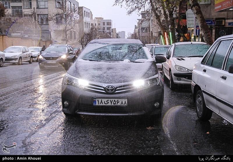 پیش بینی باران و تگرگ 6 روزه در 10 استان