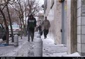 رگبار و تگرگ شدید تهران را غافلگیر کرد+عکس