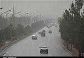 سرعت ورزش باد در کرمان به 75 کیلومتر در ساعت رسید