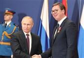 تأکید رهبران روسیه و صربستان بر توسعه هر چه بیشتر روابط دوجانبه