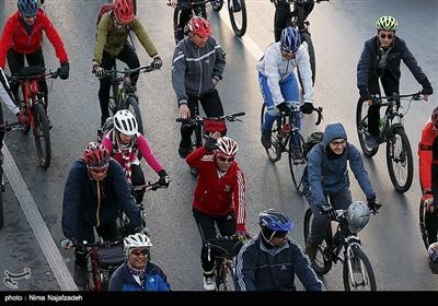 همایش دوچرخه سواری روز هوای پاک-مشهد
