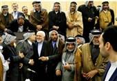 العشائر العراقیة تستقبل ظریف بحفاوة بالغة