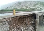 لرستان| بارش شدید باران به راههای شهرستان پلدختر خسارت وارد کرد