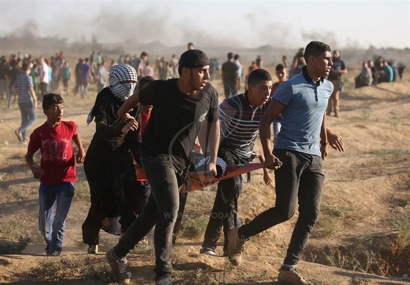 زخمی شدن 11 فلسطینی در راهپیمایی بازگشت؛ فراخوان برای چهل و چهارمین جمعه
