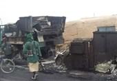 طالبان 30 خودروی زرهی ارتش در شمال افغانستان را به آتش کشید