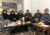 دیدار فرماندهان حشد الشعبی با مادر شهید دقایقی