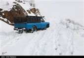 لرستان| راه ارتباطی 123 روستای الیگودرز مسدود است