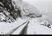 85 سانتیمتر برف در مناطق کوهستانی استان گلستان ثبت شد