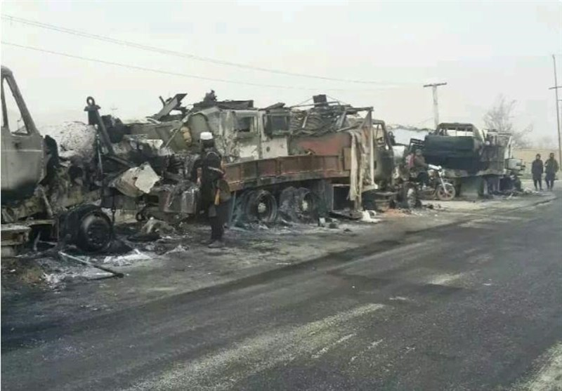 Taliban Attack Large Afghan Reinforcement Convoy in Northern Faryab Province (+Video)