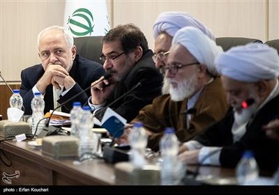 محمدجواد ظریف در جلسه مجمع تشخیص مصلحت نظام