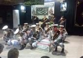 وداع با پیکر مطهر دو شهید گمنام دفاع مقدس+تصاویر