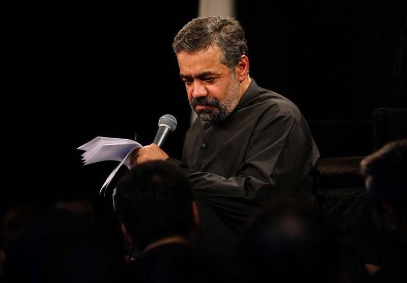 مرثیه سرایی حاج محمود کریمی در ایام شهادت امام جواد (ع)