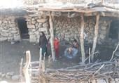 کهگیلویه و بویراحمد حکایت زنی که با 2 فرزند قد و نیم قد در کوه زندگی میکنند+فیلم