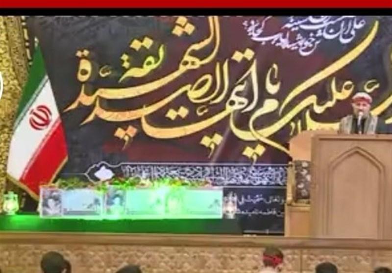 وداع با 3 شهید تازه تفحصشده استان فارس در حرم مطهر شاهچراغ(ع) برگزار شد