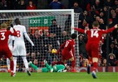 فوتبال جهان| لیورپول با گلهای صلاح میهمان سرسختش را شکست داد/ هفتمین برد متوالی منچستریونایتد با غلبه بر یاران جهانبخش