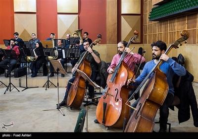 تمرین ارکستر سمفونیک صدا و سیما