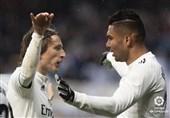 فوتبال جهان| پیروزی رئال مادرید مقابل سویا با دو گل دیرهنگام