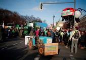 اعتراض هزاران نفر در برلین علیه سیاستهای اتحادیه اروپا در بخش کشاورزی