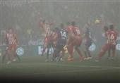 فوتبال جهان برتری قاطعانه اتلتیکومادرید در استادیوم مهآلود