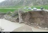 سیلاب به 115 کیلومتر از راههای مواصلاتی استان لرستان خسارت زد